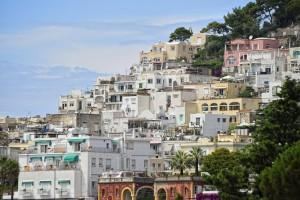 Capri island town