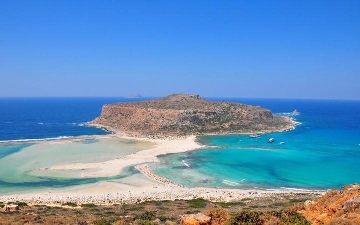 Greece - Crete - Elafonissi pink beach