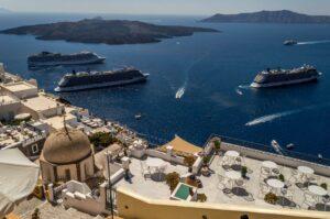 Greece Santorini Mediterranean cruises